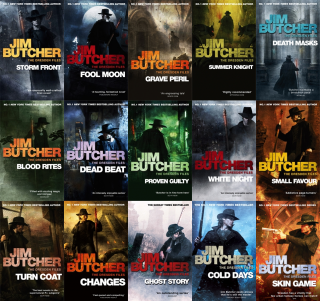 I libri di The dresden Files