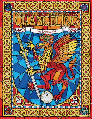 GDRPG Changeling Dreaming 20th anniversary cover