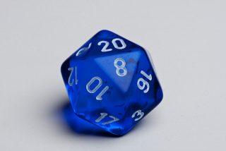 GDRPG dado 20 facce
