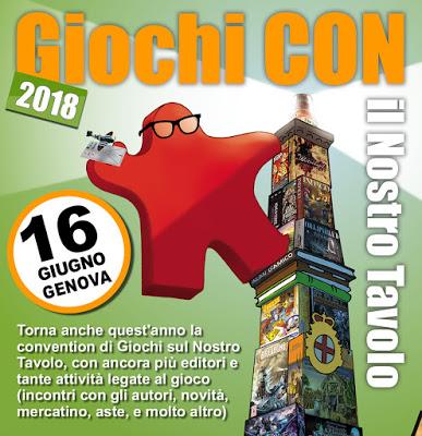 Giochi CON 2018 Genova