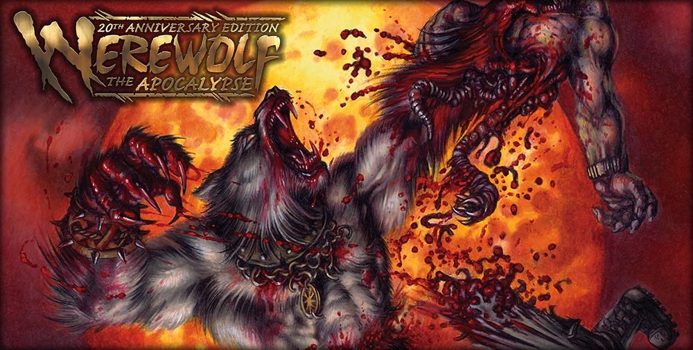 W20 werewolf fighting