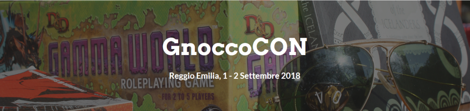 GnoccoCON GDRPG