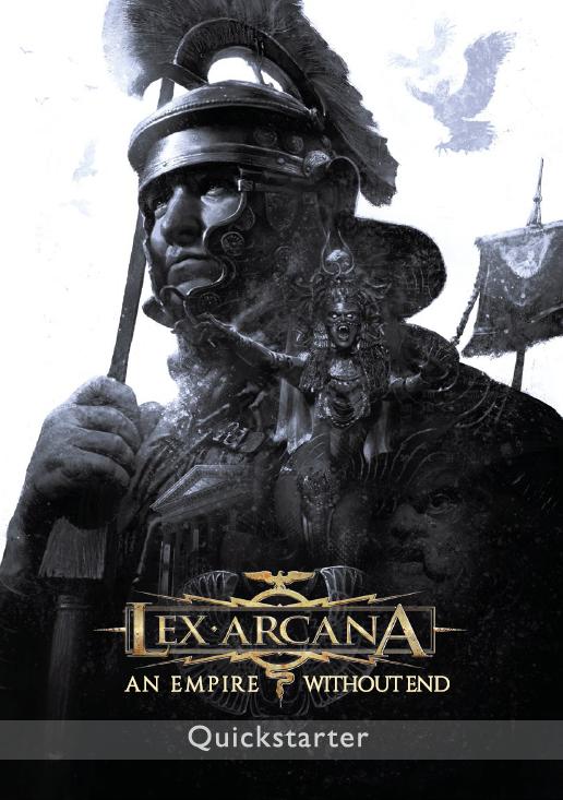 Lex Arcana Quickstarter copertina