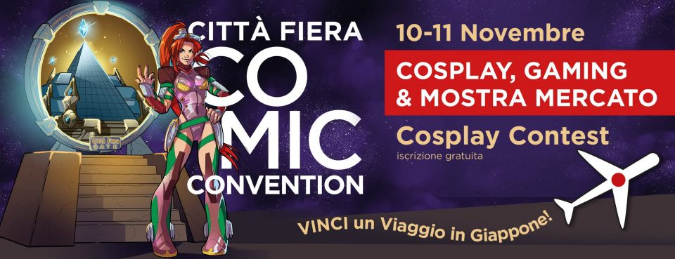Cittafiera comics convention 2018