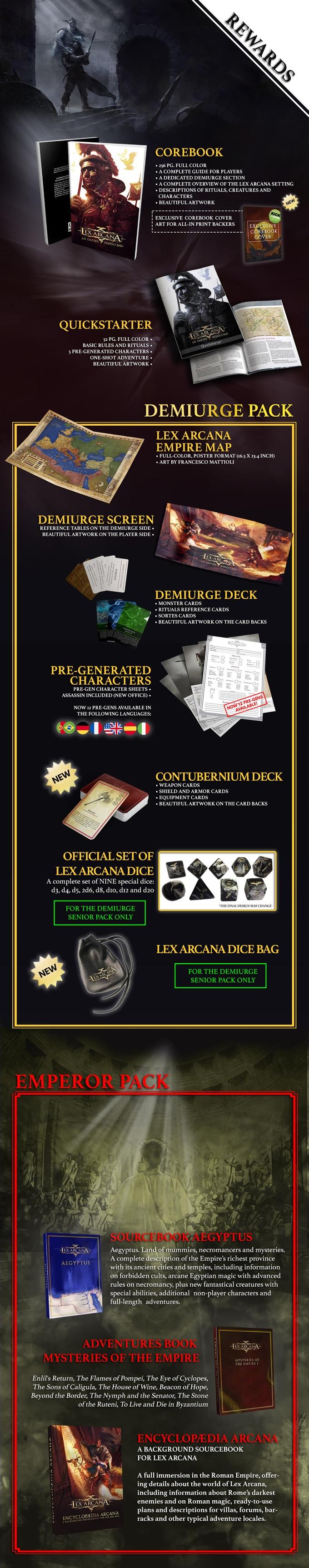 Lex Arcana kickstarter