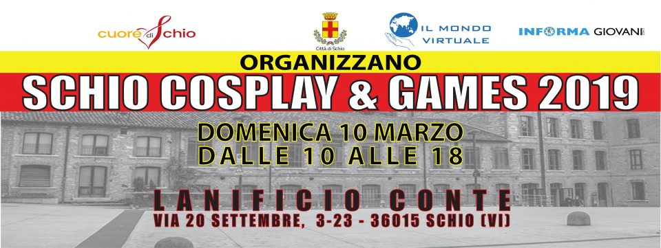 Schio cosplay and games 2019