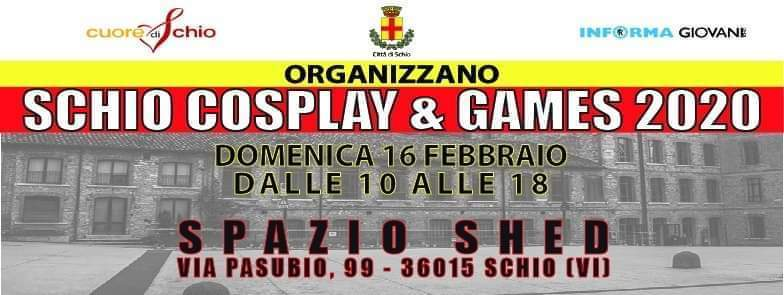 Schio cosplay and gaming 2020