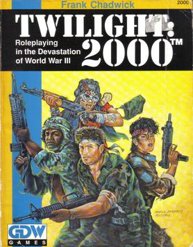 Twilight 2000: 2nd edition cover