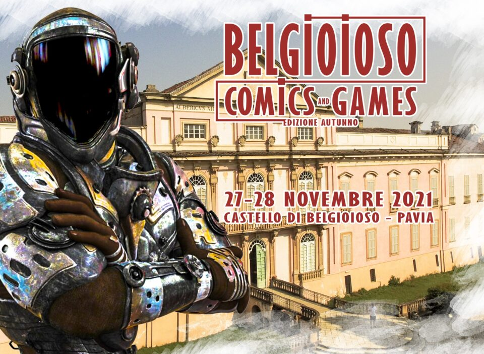 Belgioioso comics, 27-28 novembre 2021